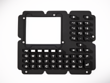 Taiwan made Silicone keyboard keypad for medical application and security appliance