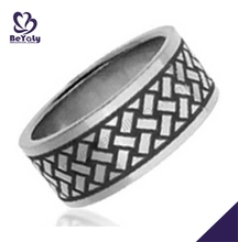 tat ring fashion custom stainless steel ring jewelry