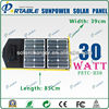 30W Sunpower High Efficient Folding Solar Panel Charger for digital batteries Phones, Ipads, Battery, Laptop (PETC-H30)