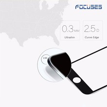 Promotional cheap factory protective screen protector for iPhone 7 360 degree privacy tempered glass screen protector