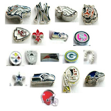Wholesale Cheap NFL Football Zinc Alloy Floating Charms For Locket