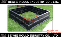 Custom injection plastic raised garden bed mould