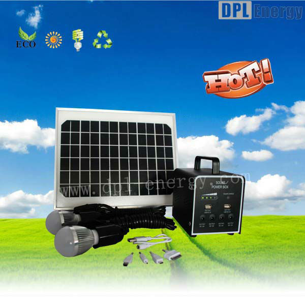 New fuel cell 15w solar home energy power generator system