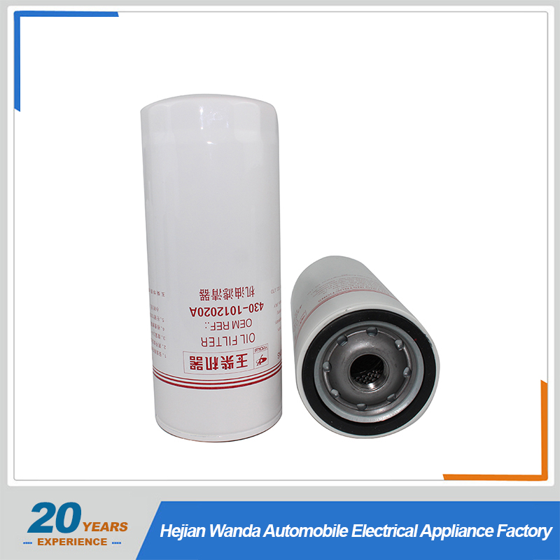 430-1012020A china oil filter factory top Quality Oil Filter