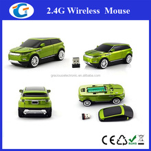 Nano receiver sports car wireless mouse mac compatible