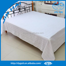 bed sheets 50% cotton 50% polyester bedsheets for hospital