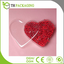 Good quality Heart Shaped Plastic Boxes plastic box transparent Clear Heart Containers
