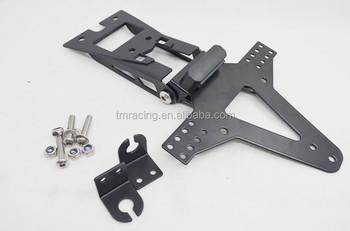 MOTORCYCLE NUMBER PLATE HANGER TAIL TIDY BRACKET BLACK license plate holder for Hornet 600 11-13 + CB1000 R