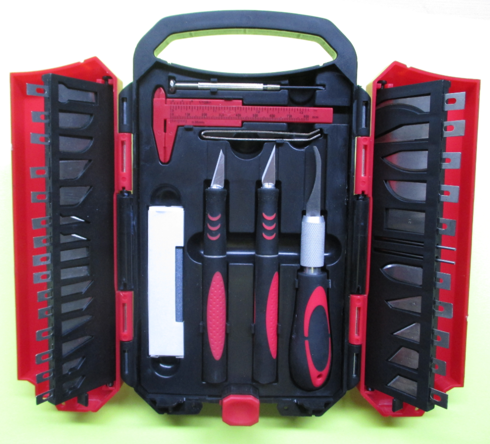 Manufore Hot Sale 37pcs Precision Carving Knife Tool Set