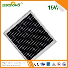 2016 new product 15w roof solar panel competitive price Polycrystalline Silicon Solar panels