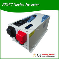 HOT SALE CE approved 2000w power inverter with battery charger/LCD screen