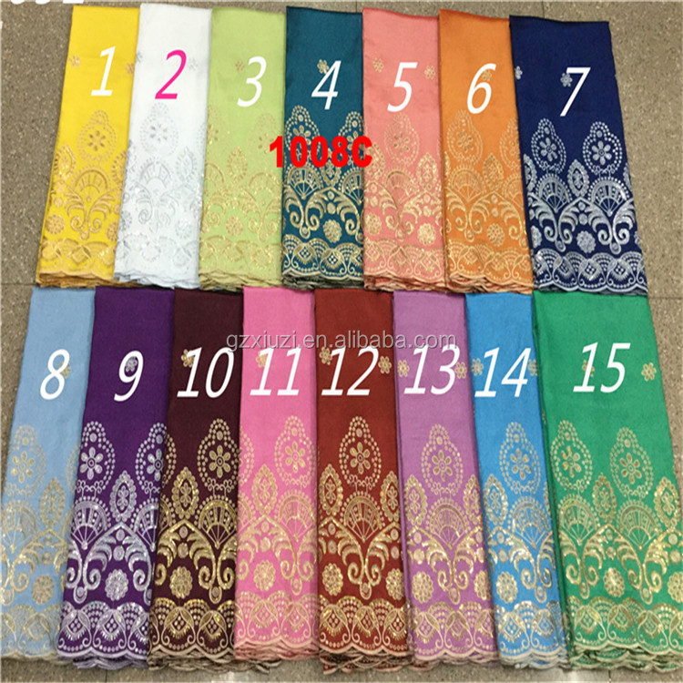 Flower high quality chemical african george plain george/raw silk george lace