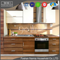 Ninety Degree wooden furniture designs kitchen cabinet made in china foshan