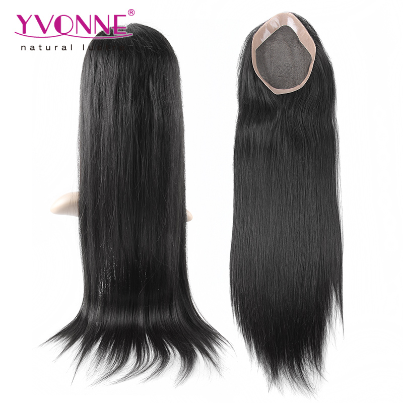 Top quality human hair toupee for women,real hair toupee