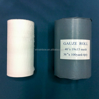 100% cotton medical disposable jumbo gauze roll manufacturer