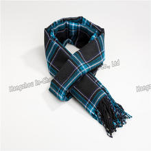 Super soft Tartan Infinity Scarf Classic Plaid Check Pattern