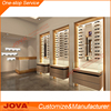 High End Retail Good Price Customized OEM Wood Glass Sunglasses Optical Display Cabinets And Rack with Led Lighting