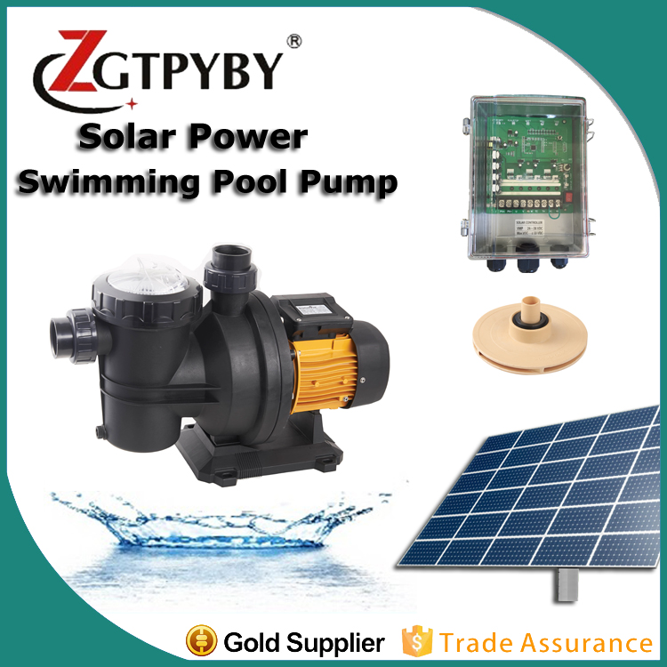 max flow 17 max head 15 DC48V dc surface water pump 550w swimming pool pump