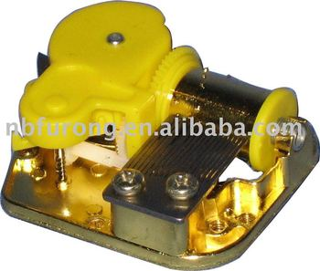 18 Note ON OFF Wire rod Switch Wind up Music Box Mechanism (DJYYL01)