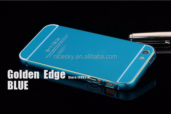 Designer promotional metal phone case for iphone5s