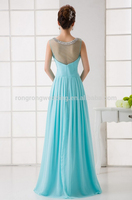 Cap Sleeve crystal beaded latest formal dress patterns evening dress
