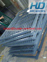 farm metal gates fence