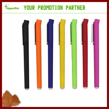 Promotional Plastic Colorful Painted Body Gel Ink Pen 0202081