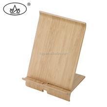 Hot sale fashionable wood mobile phone charger display stand, smart phone stand for desk