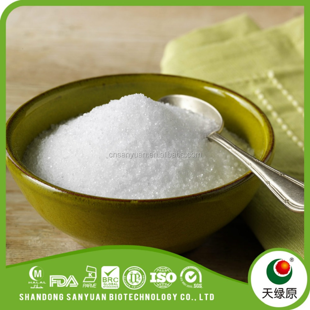 natural sweetener erythritol and xylitol