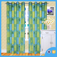 Elegant solid and printed curtain ,blackout curtain, made in china