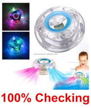 Colorful baby bath toy/led toy/light toy floating on water
