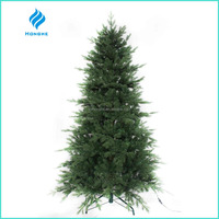 2016 new 7ft artificial christmas tree PE&PVC leaves 2094 tips for christmas decoration