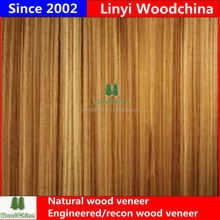 Woodchina 0.15-0.45mm factory grade AA faced natural recon pure white veneer import to mexico for plywood