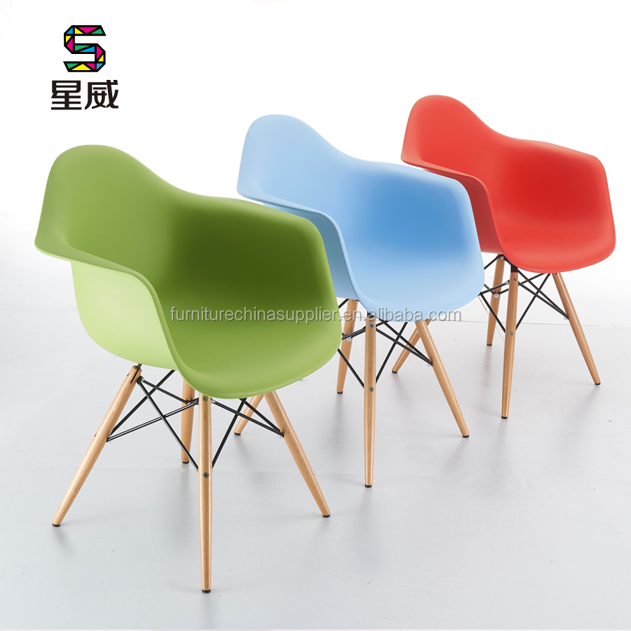 SDAWY PP Series Plastic Wooden leg PP Chair DC-311