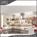 modern style home furniture pvc laminate kitchen cabinet door