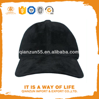 real suede leather black snapback baseball cap