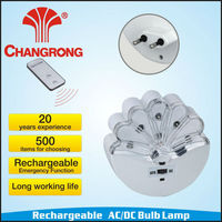 rechargeable bulb light led emergency function hand held light