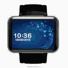 wholesale 2.2 inch IPS touch screen nano sim hand watch mobile phone dm98 android smart watch