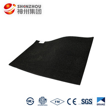 boiler insulation material 25mm black foam rubber sheets