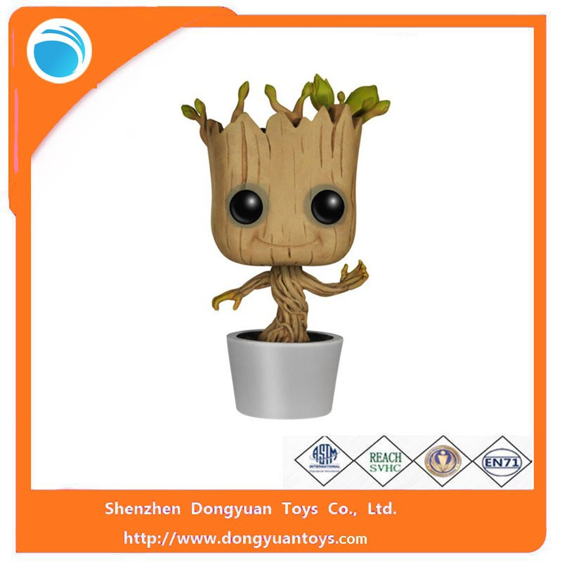 POP Groot Little Models Action Figure Toy