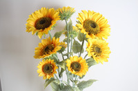 Lovely Sunflowers Gifts Aritificial Flowers Decorative Artificial Sunflowers