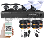 DIY AHD KIT TOLLAR Private molding AHD Camera Low Cost Best Selling Home security 960P 4ch cctv dvr kit