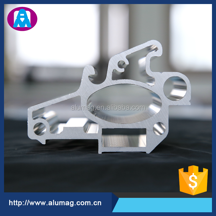 aluminum alloy extrusion profile manufacturer produced 6061 factory price