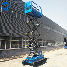 cheap price crawler scisor lift self-propelled man lift for aerial work platform