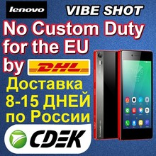 Camera Phone Lenovo Vibe Shot 4G LTE Mobile Phone Qualcomm 615 4G LTE Android 5.0 Lollipop 5.0inch 1080P 16MP Smart Mobiles