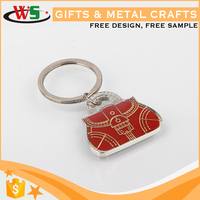 Wholesale custom souvenir customized key chain