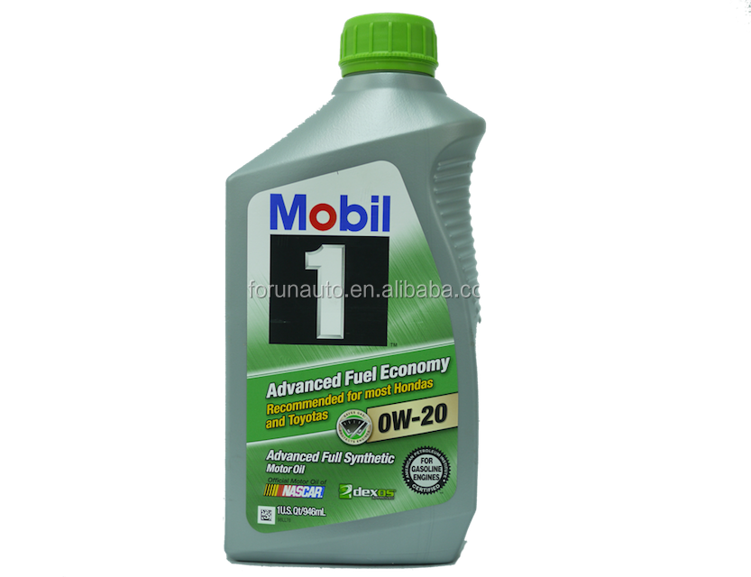 MOBIL 1 Advanced Fuel Economy SAE 0W-20 motor oil