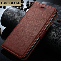 Colored Drawing Style Flip Wallet Leather Case for iPhone 6 with Holder