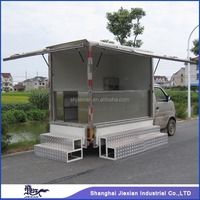 Automobile based gasoline Food Vending JX-FV260 fast food car for sale