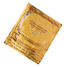 Hot sales collagen crystal gold facial mask